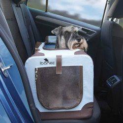 transportin para perro coche