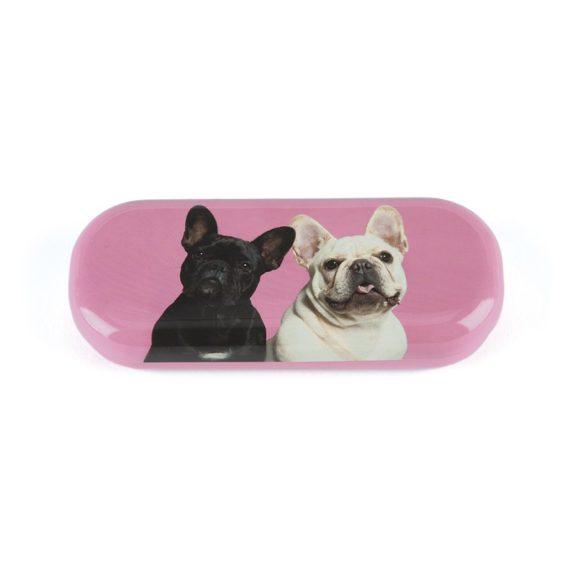 Funda para gafas bulldog