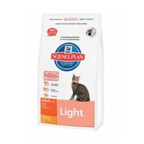 comida light para gatos hills sano natural