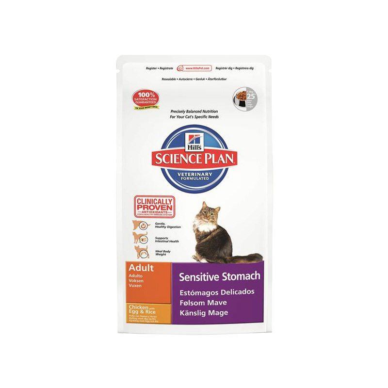 pienso para gatos que facilita la digestion con fibra y antioxidantes hills 1,5 kilogramos
