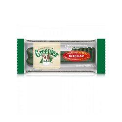snack greenies regular para perros sano natural dientes buena salud bucodental sarro placa stick premio regalo oferta verde vegetal tamaño intermedio pequeño 11 22 kilos 7