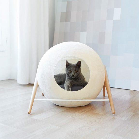 Cama Cueva para Gato The Ball