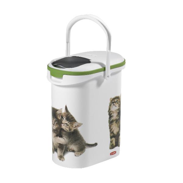 Contenedor de pienso para gatos de 4 kg