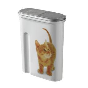 Recipiente para guardar el pienso de tu gato