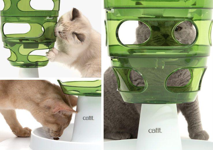 Jueguete interactivo para gatos