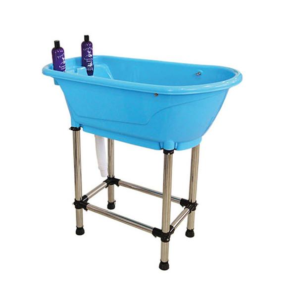 bañera para perros portátil
