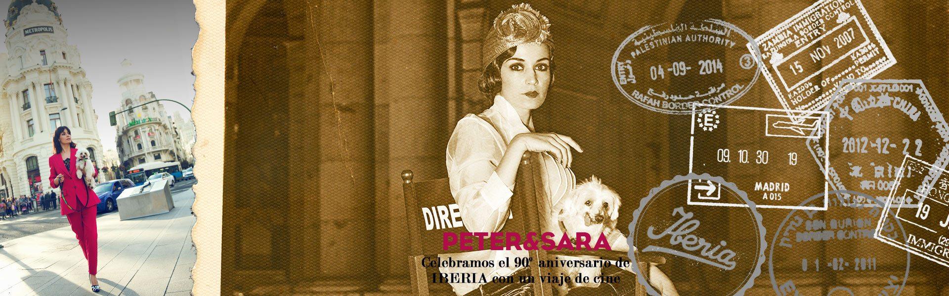 Sara-Rivero-Actriz-y-directora-de-cine-con-su-mascota-Peter-con-Iberia-Aristopet