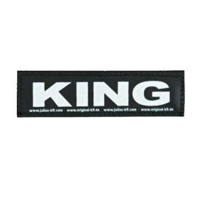 Etiqueta KING para el arnes Julius AP155561