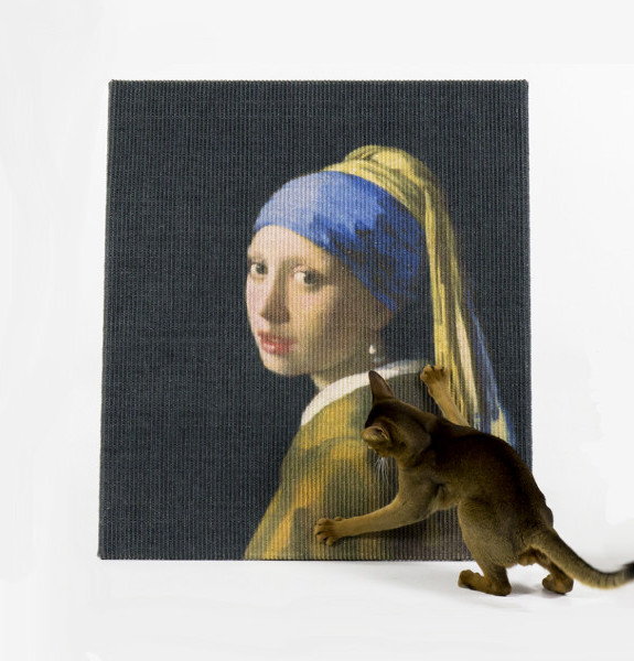 Rascador para gatos de la Joven de la perla AP7024_2