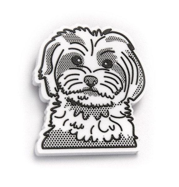 Iman con forma de perro AP75017