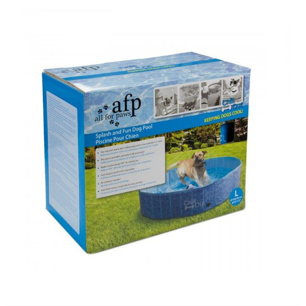Piscina plegable para perros chill out aristopet for Piscina para perros