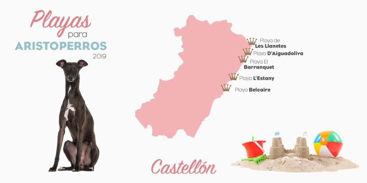 Playas para perros 2019: CASTELLÓN