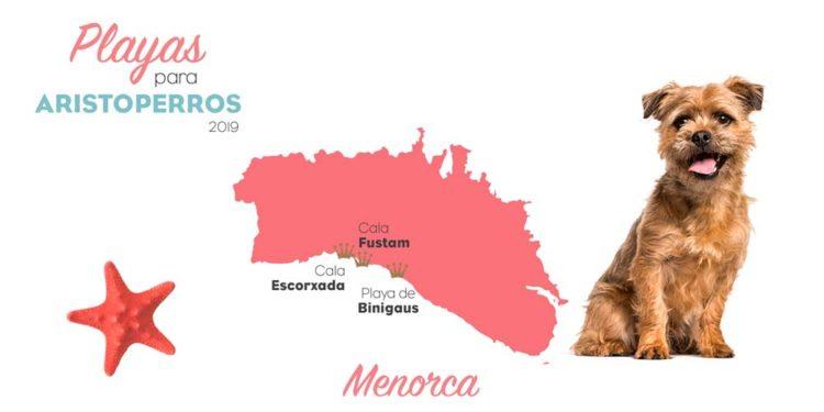 playas para perros 2019: Menorca
