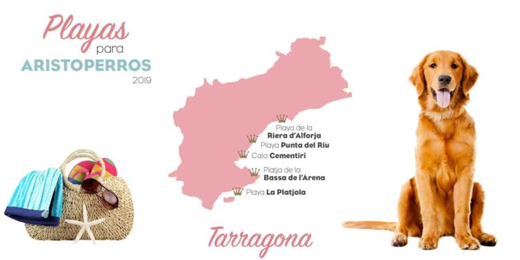 Playas para perros 2019: TARRAGONA