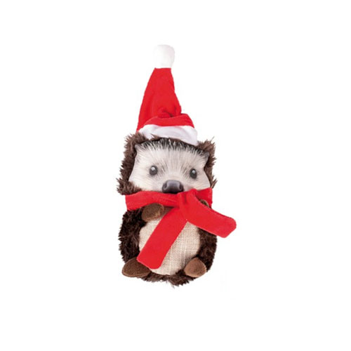 Peluche de Navidad para perro Erizo Duvo