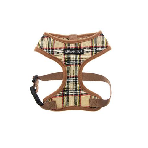 Arnés para Perro Brown Tartan Harness