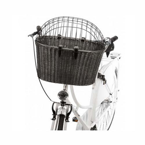 Cesta Delantera para Bicicleta con Enrejado