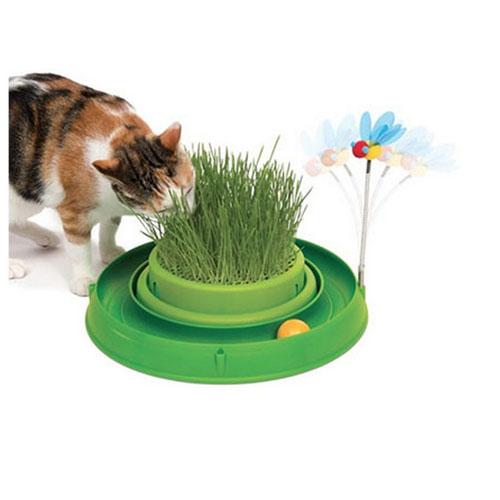 Juguete Interactivo para Gato Catit Play con Hierba
