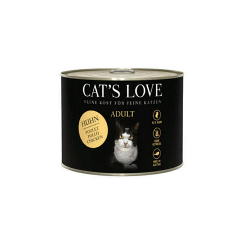 Lata CAT'S LOVE Adult Pollo 200 Gr