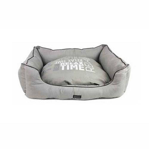 Cama para Perro Relax Time con Cuero