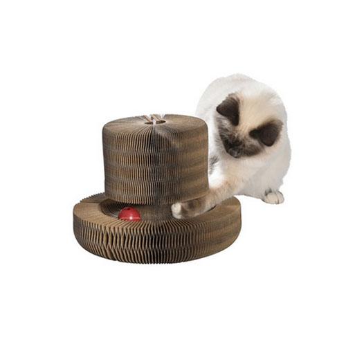 Rascador para Gato de Cartón 4 Posiciones Optimus