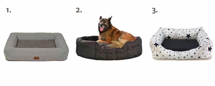 cama de perro desenfundable
