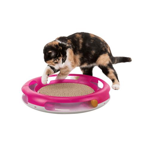 Juguete Rascador para Gato Race & Scratch