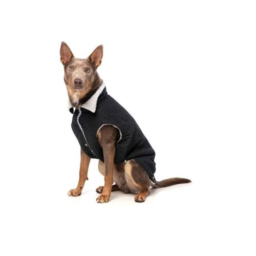 Chaqueta para Perro Rebel Black Jacket FuzzYard