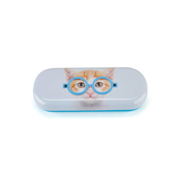 funda gafas gato con gafas